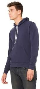 Bella Poly-Cotton Fleece Pullover Hoodie 3719