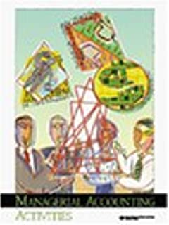managerial accounting activities workbook