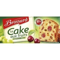 - Brossard Cake Aux Fruits Tranche 300g