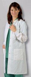 ResiStat Ladies' Protective Lab Coats , Medium by BH Medwear (Image #1)