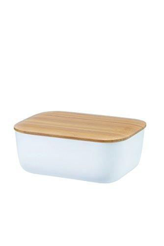 Rig Tig Box-It Butter Dish, Melamine, White, 15 x 12 x 7.0000000000000009 cm by Rig-Tig by Stelton ()