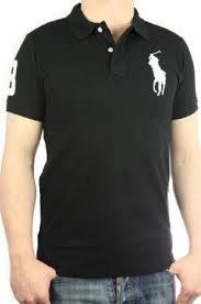 Polo Ralph Lauren, big pony, noir, custom fit, taille S  Amazon.fr ... 53592ade0f2c