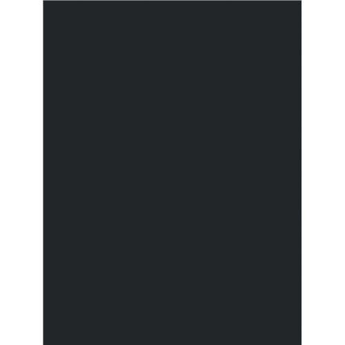 8 1/2 X 11 Inches Cardboard | 30pt (624 gsm) Chipboard Sheets | 50 Chipboards Per Pack. (Black) by H&S Paper