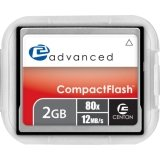 Centon Advanced 2GB CompactFlash Memory Card (2 Gig Cf compare prices)