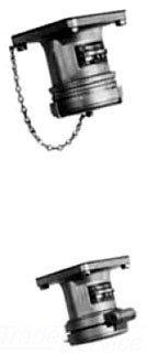 Appleton ADR1034 Polarized Pin and Sleeve Receptacle 4 Pole 3 Wire 100 Amp 600 Volt AC/250 Volt DC 3-Phase Powertite