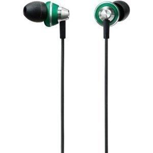 Panasonic stereo earphones sealed green