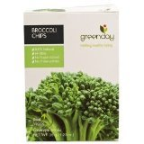 Greenday Broccoli Chips,Thai Snack,healthy Snack,Real vegetable 1.23 Oz.(35 g.) product thailand by Thailand