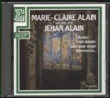 Marie-Claire Alain Plays Jehan Alain - Erato