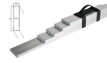 Bon 24-125 1-Foot 6-Inch, 2-Foot, 2-Foot 6-Inch, 3-Foot, 4-Foot, 6-Foot Aluminum Tile Screed Set by bon
