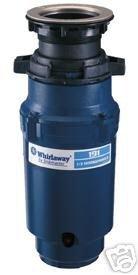 Whirlaway 191 1/3 HP Garbage Disposal less Cord