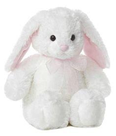 White Plush Bunny 10.5''