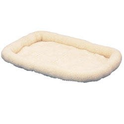 SnooZZy Original Fleece Crate Donut Dog Bed Size: Extra Small (18'' L x 12'' W)