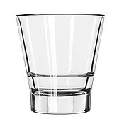 Libbey Endeavor DuraTuff Double Old Fashioned Glass, 12 Ounce -- 12 per case (Tumbler Glass Libbey)