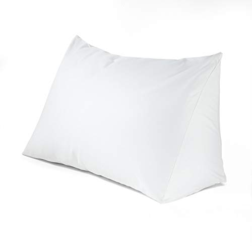 Downlite Reading Wedge Triangle Pillow Bonus Acid Reflux