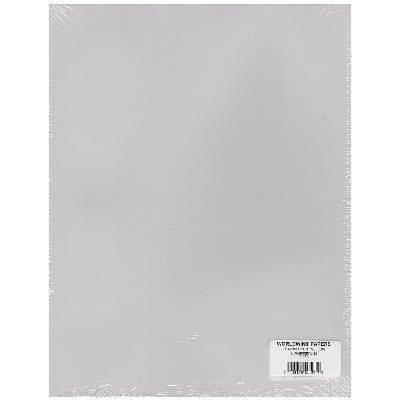 WolrdWin Translucent Heavyweight Vellum 8.5''X11''-Clear 48lb by Worldwin