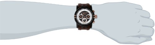 MULCO Lincoln Illusion Swiss Chronograph Analog Watch Multifunctional Movement - Silicone Band