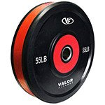 Valor Athletics - FITNESS-BPP-55 - Bumper Plate Pro- lbs by Valor