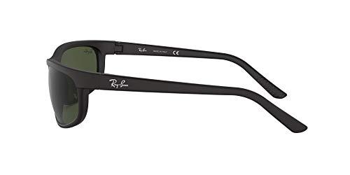 Ray-Ban mens Rb2027 Predator 2 Rectangular Sunglasses Rectangular Sunglasses
