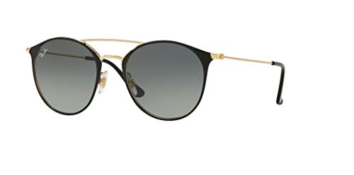 Ray ban Gradient Sunglasses grey Top Rb3546 Black Gold 77pxrUwq