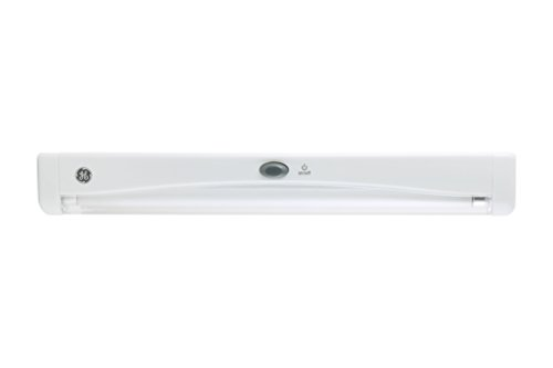 GE 12-inch Fluorescent Utility Light, Battery Operated, Wireless, Indoor, 17429