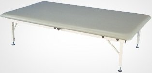 (Armedica AM-640 Electric HI-LO Mat Table w/ Steel Frame)