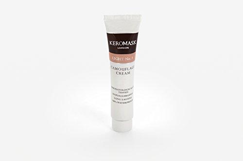 Keromask Camouflage Cream Light No 3 (Official Keromask Shop) by Keromask (Official Keromask - Iii Ltd Rosacea