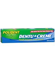 Dentu Creme Polident - Polident Dentu-Creme Denture Cleaner - 3.9 oz, Pack of 5