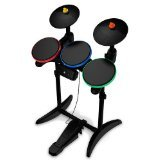 Guitar Hero 6 Warriors of Rock Wireless Drums for (Wireless Guitar Drums)