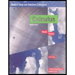 Calculus : Multivariable Student Study and Solutions Companion, , 1931914729