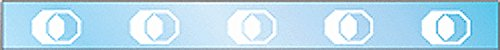 CRL Boral Style Glass Safety Decal - 5 Pack by CRL