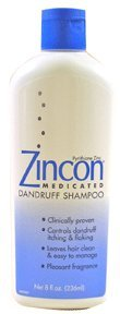 Zincon Medicated Shampooing 8 Oz