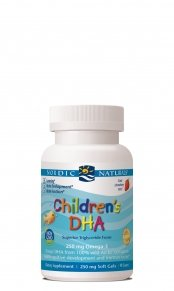 Nordic Naturals - Children's DHA, Healthy Cognitive Development and Immune Function, 90 Soft Gels