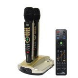 Spanish Version Magic Sing Et23kh Built-in Incorporado 1,573 Spanish + 427 English POP Songs + 2 Wireless Mic