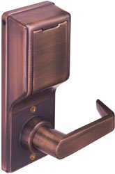 Alarm Lock DL2700WP US10B DL2700W 10B Duronodic, Non Handed, Zinc Alloy