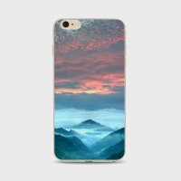 Iphone 6 Case  Floral Print Stunning Transparent Clear Ultra Slim Tpu Skin Shell Cover For Apple Iphone 6   Beautiful Fashion Scenery Series Design Cases  Scenery Pattern Iphone 6 4 7 Inch   Color 9