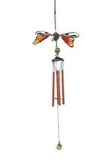Schmiedeeiserne Bunte windspiele wohnaccessoires campanula Reihe der alten bemalten anhänger tiere Vogel schmetterling