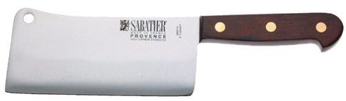 Sabatier Provence 6-Inch Stainless Steel Meat Cleaver by Sabatier