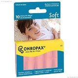 3 X Ohropax Earplugs Soft