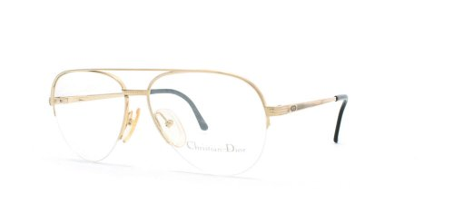 Dior Montaigne 26 Women Rectangular Eyeglasses (Black ...