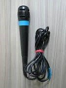 Replacement Microphone for Singstar Plug-in - Blue (Singstar Blue Microphone)