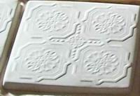 Make Your Own 12x12 Victorian Pattern Tile With Mold #1112
