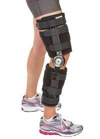 FREEDOM comfort Post-op ROM Knee Brace w/Pin Hinge