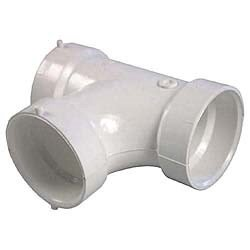 Genova Products 71120 Sanitary Tee Pipe Fitting, 2
