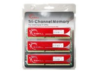 Tri Channel Kit Memory - G.SKILL 6GB (3 x 2GB) DDR3 1333 (PC3 10666) 240-Pin Triple Channel Kit Desktop Memory Model: F3-10666CL9T-6GBNQ