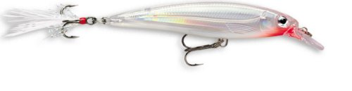 Rapala X-Rap 04 Fishing lure, 1.5-Inch, Glass Ghost