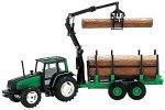 JOAL 254 Modell Traktor – Valtra Forstwirtschaft Traktor mit Crane