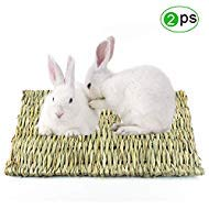 Grass Mat for Rabbits, Loveone(TM) Natural Safe Hideaway Durable Chew Toy Mat Bed for Bunny/...