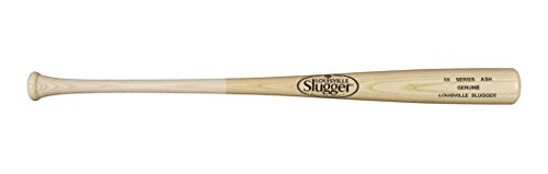 Wilson Louisville Slugger WTLW3AMIXB1634 Genuine Series 3X Ash Mixed Baseball Bat, 34 inch/31 oz, Natural