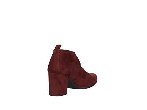 f18 Orzas Unisa Zapatos Mujer Burdeos De Para st Tacón zqF4wFPUx