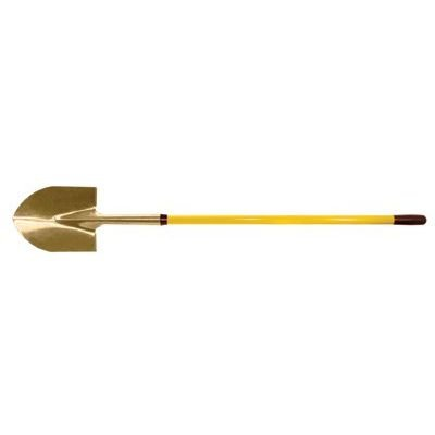 Round Point Shovels - 4'10'' round point shovelwith fiberglass handle